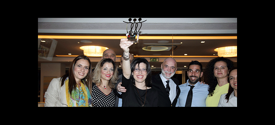 Edenred Greece employees at the award ceremony